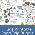 Road Trip Printable Pack for Kids