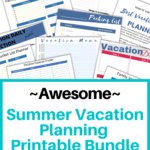 Road Trip Activity Bundle for Kids