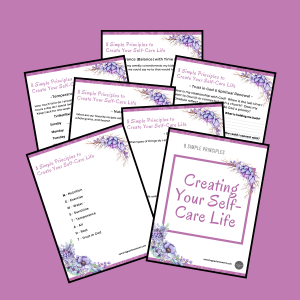 Christian Self-Care FREE Self-assessment workbook