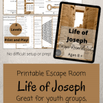 Life of Joseph - Escape Room Game