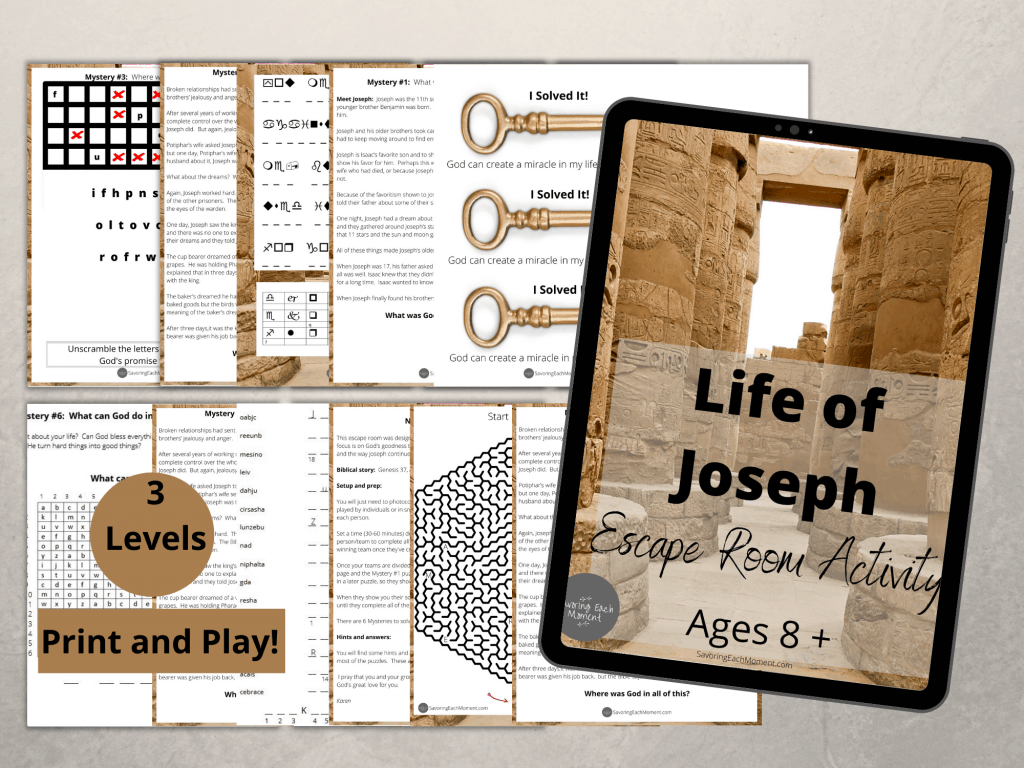 Life of Joseph - Escape Room Game
