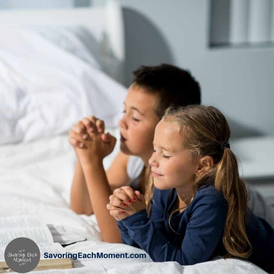 Bedtime Prayers for Kids - Creating an Evening Routine