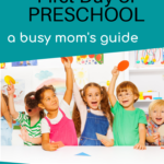 Preparing for the First Day of Preschool