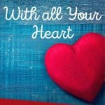 red heart - how to trust God with all your heart