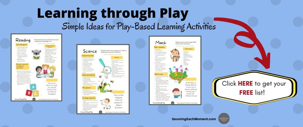 Learning through play play based learning activities for young children