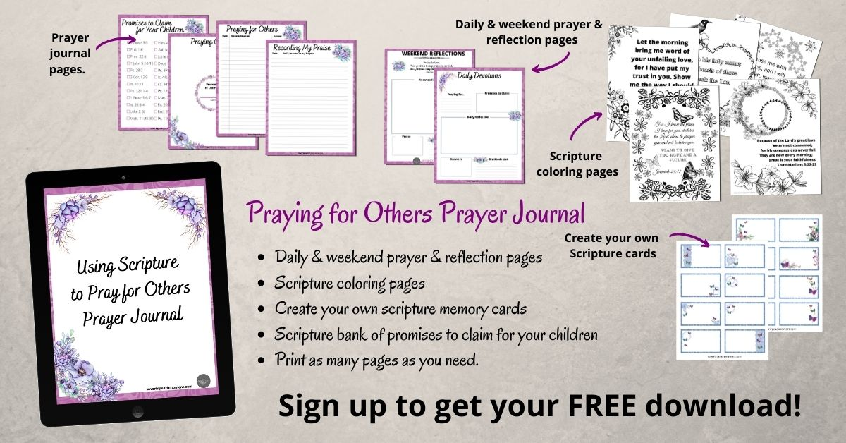 Praying for Others Prayer Journal