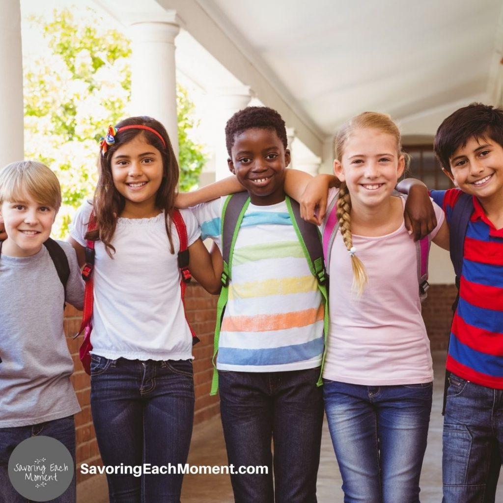 Praying for School Success - praying for kids in school