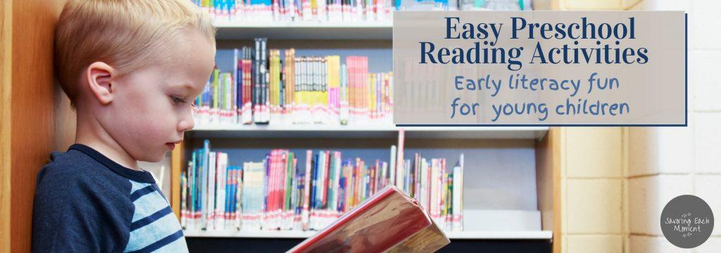 Preschool Reading Activities to develop Pre-Reading Skills