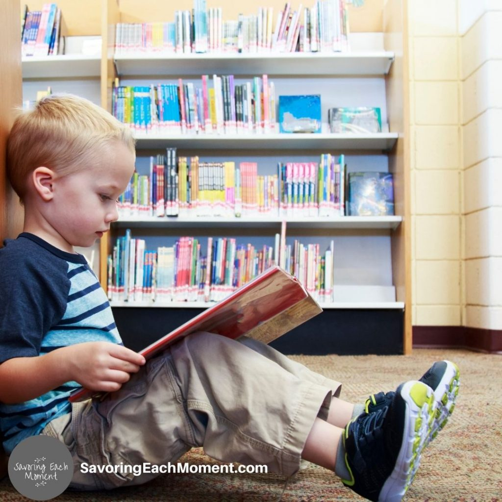 Pre-Reading activities for young children