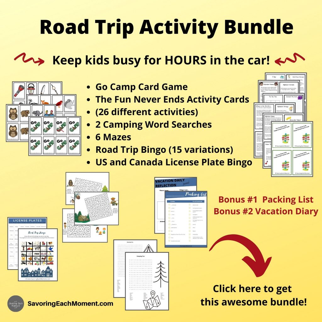 Road trip games for kids to play